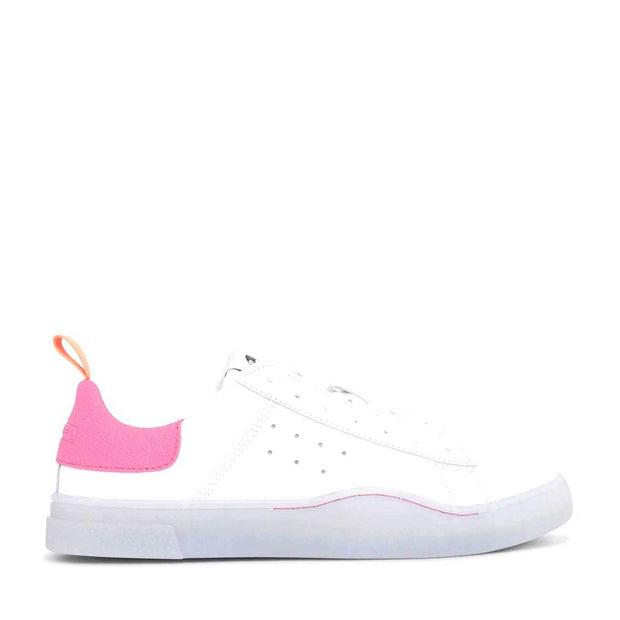 Womens Clever S-Clever Low White/Pink | Shop Diesel online IKON NZ