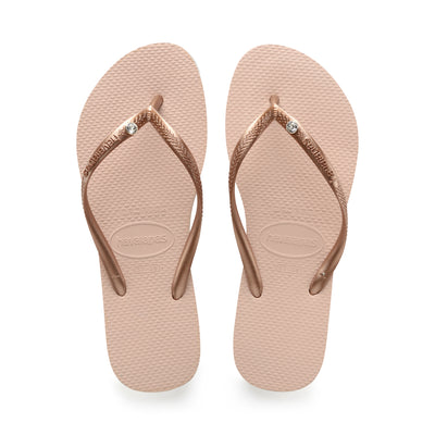 Slim Crystal Glamour - Ballet Rose | Shop Havaianas at Ikon Arrowtown