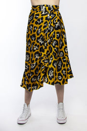 Wrap Me Skirt Gold | Shop Federation online at IKON NZ