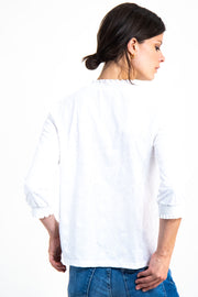 Womens LS Top - Off White