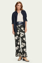 High Rise Pyjama Pants - Printed | Shop Maison Scotch at IKON