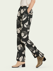 High Rise Pyjama Pants - Printed