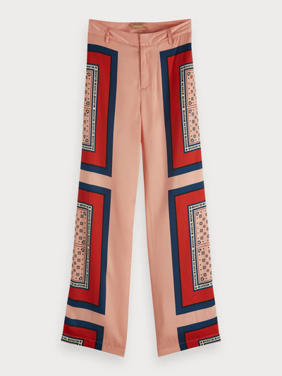 Maison Scotch Bandana Print Trousers | Shop online at IKON NZ
