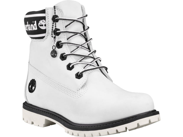 "Womens Icon 6"" Premium Waterproof Boot - White Nubuck"