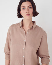 Womens Xander Long Sleeve Shirt Husk | Shop Assembly Label at IKON NZ