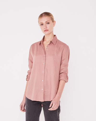 Womens Xander LS Shirt Cameo Pink | Shop Assembly Label at IKON