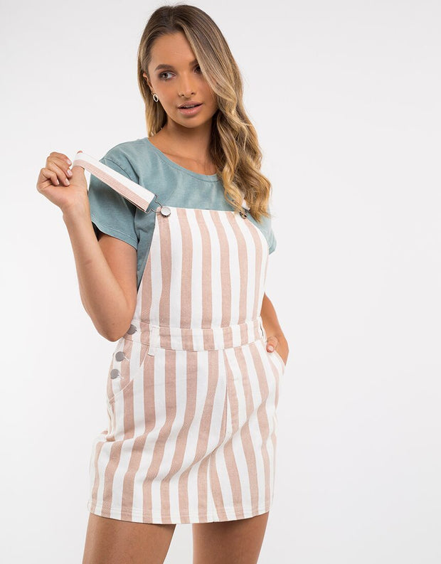 Ridge Pinafore - Stripe