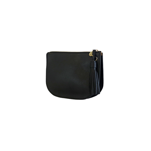 Alpha Half Moon Bag - Black