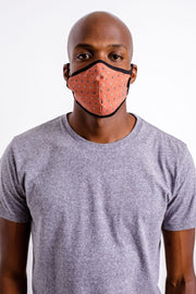 Brixton Antimicrobial Facemask - Polka