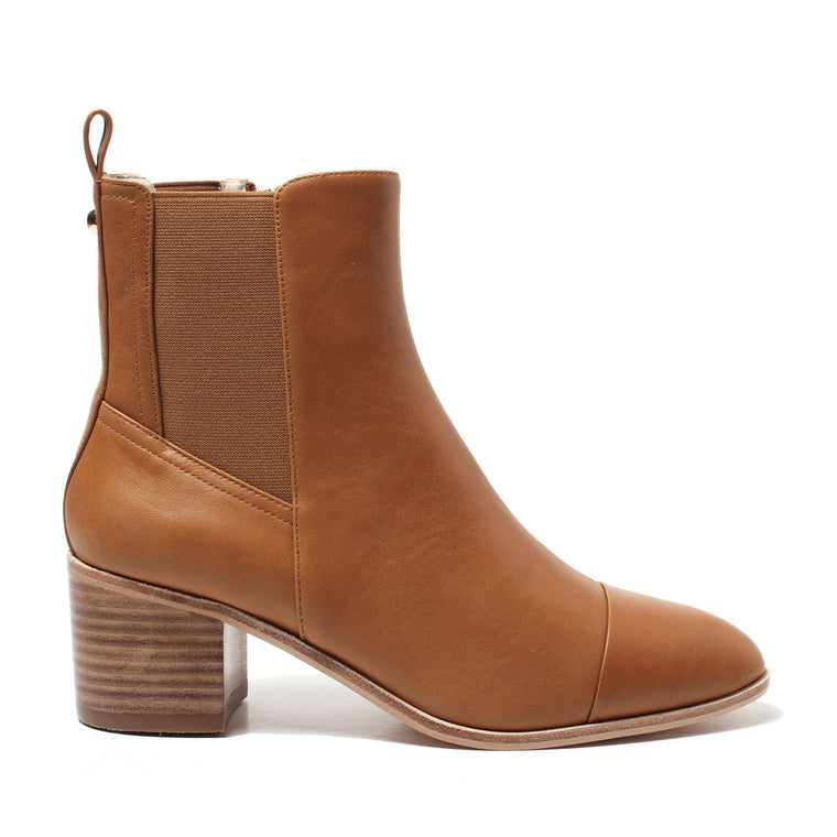 Arden Boot - Tan Leather