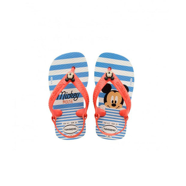 Toddler Baby Disney Classics - White/Strawberry | Shop Havaianas at IKON in Arrowtown, N