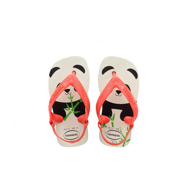 Toddler Baby Pets - White/Strawberry | Shop Havaianas at IKON in Arrowtown, NZ