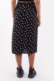 Daisy Days Midi Skirt - Print