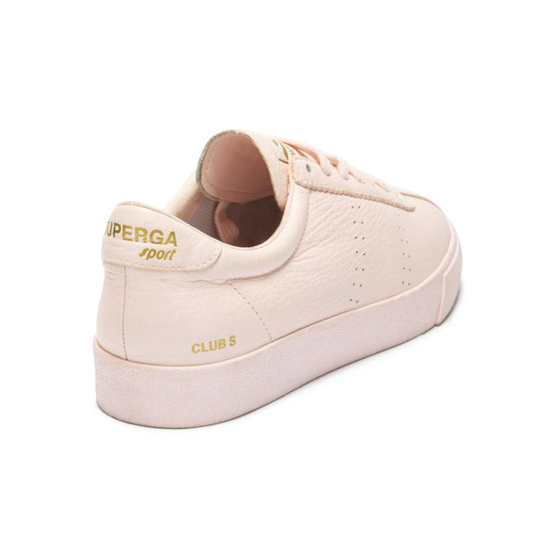 Superga 2843 Clubs Tumbled Leatheru - Pink