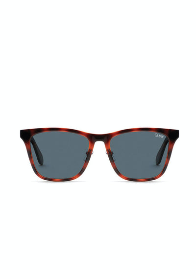 Reckless - Orange/Tort Navy | Shop Quay Sunglasses at IKON NZ