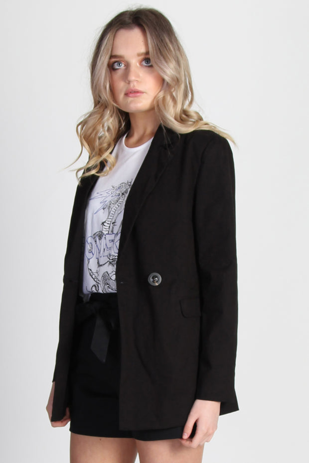 Rory Blazer - Black | Shop SomeKind at IKON, Arrowtown NZ