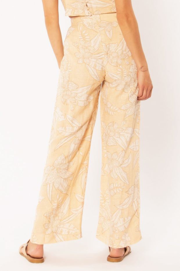 Cassandra Woven Pant - Light Apricot | Amuse Society at IKON NZ