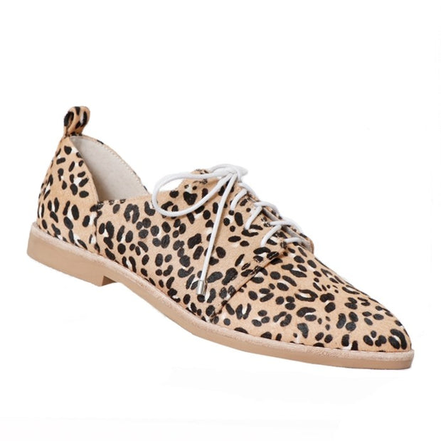 Chester Shoe - Blush Leopard
