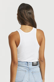 Demi Singlet - White | Shop Dr Denim at IKON NZ