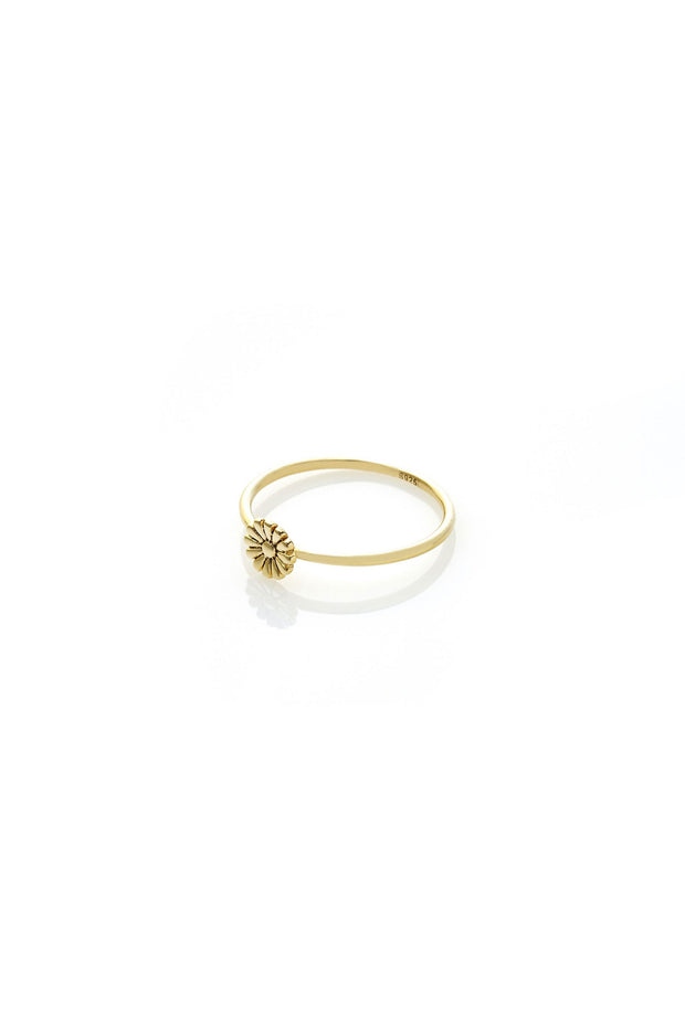 Daisy Ring - Gold | Shop Silk and Steel Jewellery at IKON