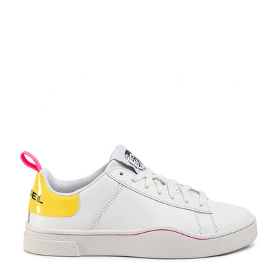 Womens S-Clever Low - White/Yellow H6971