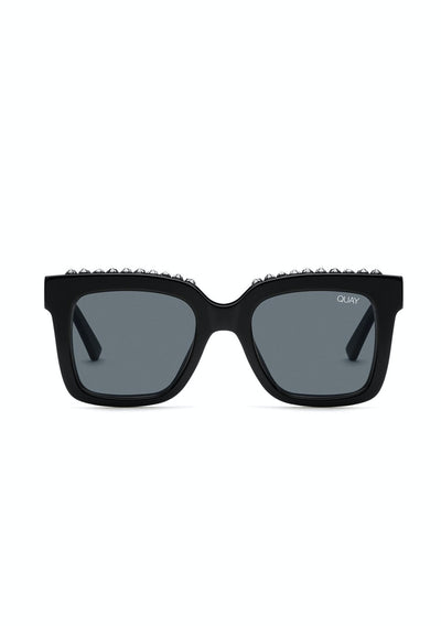 Icy - Black Stud/Smoke | Shop Quay Glasses at IKON NZ