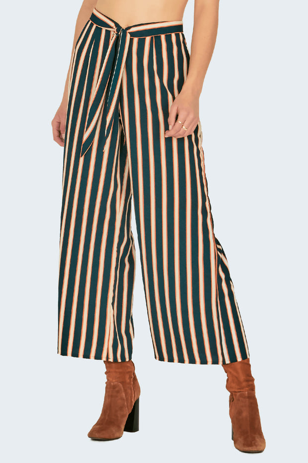 Earn Your Stripes Pant -Emerald | Shop Amuse Society at IKON Arrowtown