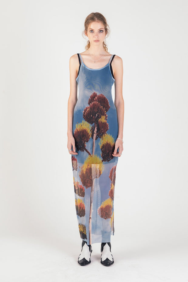 Desert Flower Midi Dress | Shop Stolen Girlfriends Club at IKON in Arrowtown, NZ