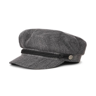 Brixton Fiddler Cap Black Acid Wash