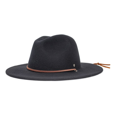 Brixton Field Hat - Black shop online or in store at GOALS