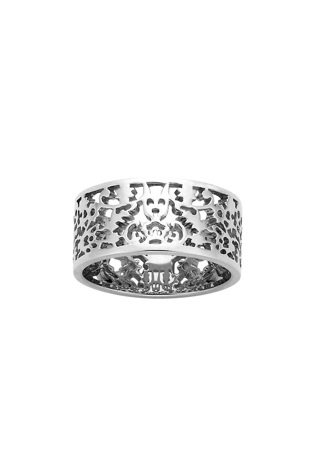 Filigree Band - Silver 9mm