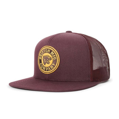 Brixton Rival Forte MP Mesh Cap - Plum shop online or in store at IKON