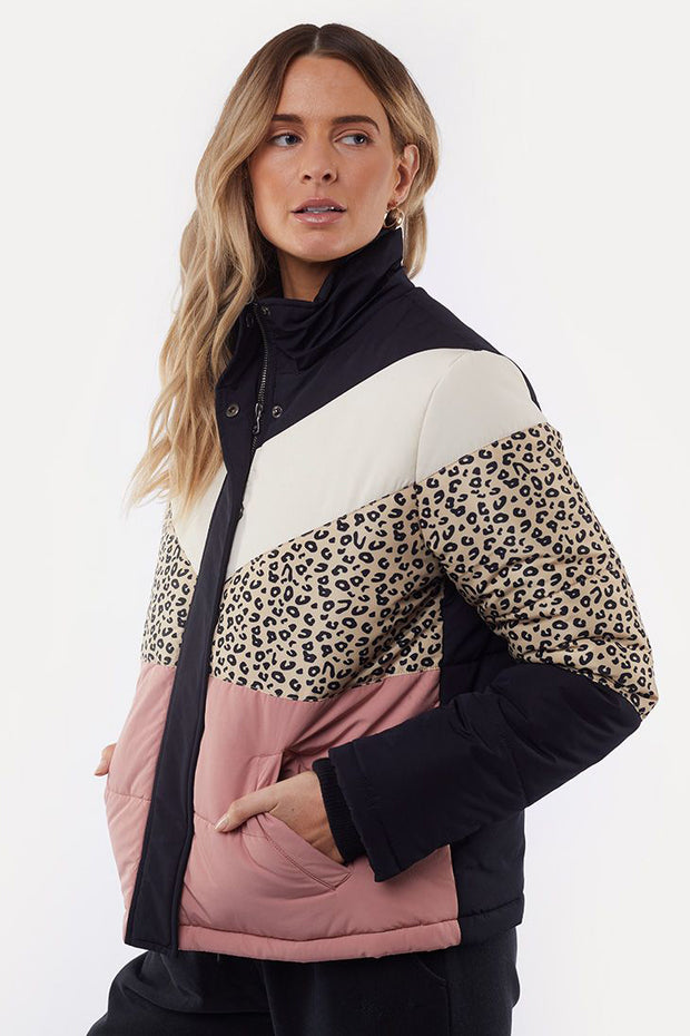 Distinct Panel Puffer Jacket | Shop All About Eve at IKON NZ