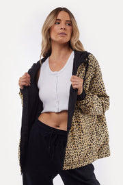Leopard Reversible Spray Jacket | Shop All About Eve at IKON NZ