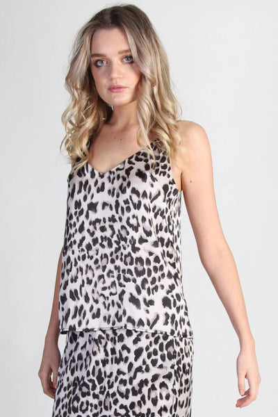 Suki Cami - Leopard | Shop SomeKind at IKON, Arrowtown NZ