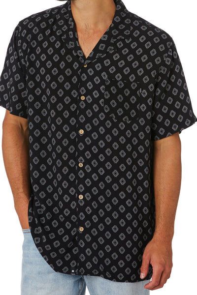 Davis Jnr SS Shirt - Black | Shop St Goliath Clothing at ikonnz.com NZ