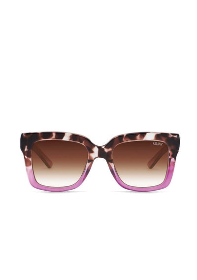 Icy - Tort Purple/Brown Fade | Shop Quay Glasses at IKON NZ