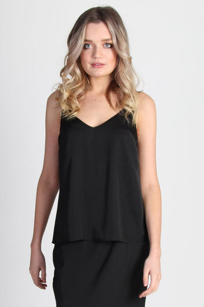 Suki Cami - Black | Shop SomeKind at IKON, Arrowtown NZ