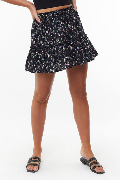 Doily Ditsy Skirt - Print | Shop All About Eve at IKON NZ