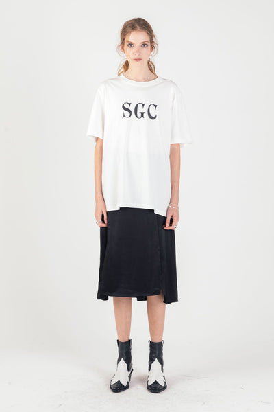 SGC Classic Tee Vintage White | shop Stolen Girlfriends Club at IKON, Arrowtown, NZ