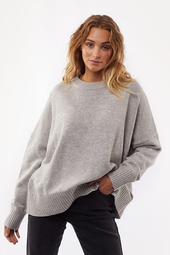 Womens Knit Top - Storm