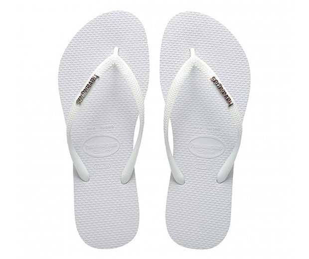 Slim Logo Metallic  | Shop Havaianas online at Ikon Arrowtown