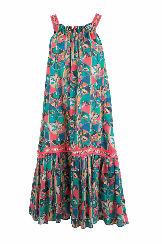 Cooper Tequila Sunrise Dress - Multi