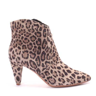 Vanessa Boot Leopard Suede | Shop Miss Wilson Online at IKON Arrowtown
