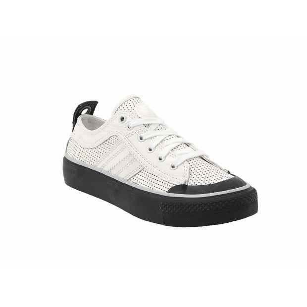 Womens S-Astico Low Logo - Star White T1015