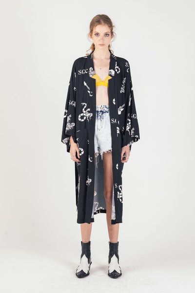 SGC Monogram Kimono | shop Stolen Girlfriends Club at IKON, Arrowtown, NZ