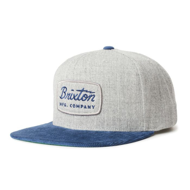 Brixton Jolt Snapback - Grey/Washed Navy