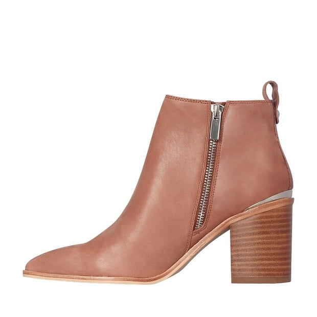 Khloe Boot - Mocca Leather