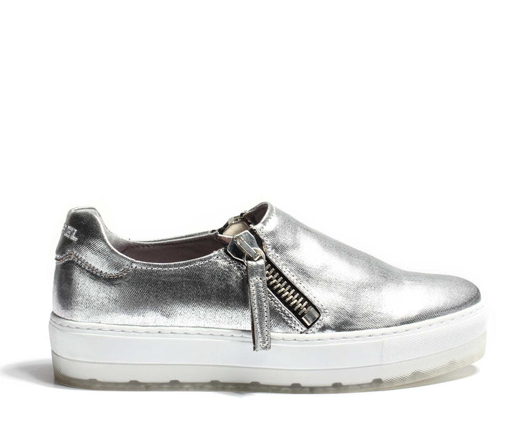 Diesel Womens Lenglas S-Andyes Zip On - Silver
