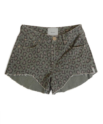 Night Crawler Truckers Relaxed Short - Leopard